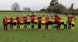 Chinnor U12 and Thame U12, 2014