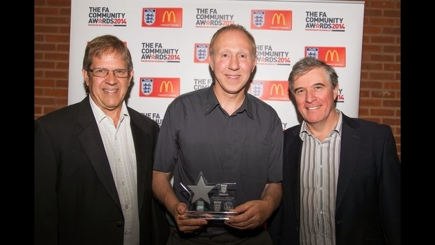 SBMSC picks up Respect award at FA Community Awards dinner