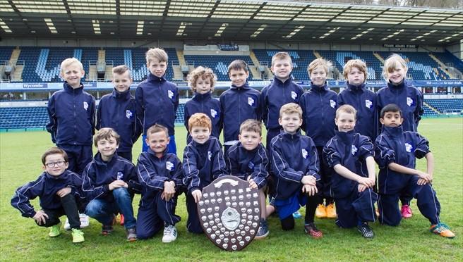 Marlow Royals win U7 Fairplay award for 2013/14 – photos & tables