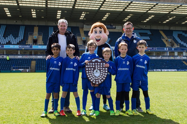 Marlow Town U8 with Bodger
