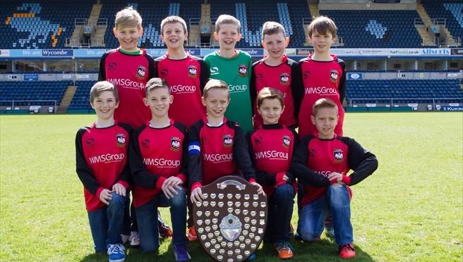 Aylesbury FC win U10 Fairplay award 2013/14 – photos & tables